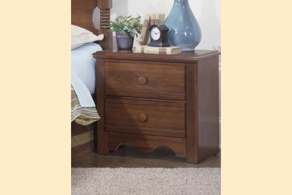 Carolina Furniture Crossroads Two Drawer Night Stand