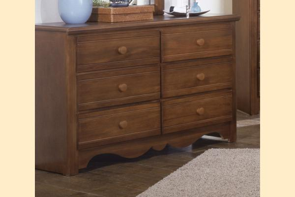 Carolina Furniture Crossroads Double Dresser