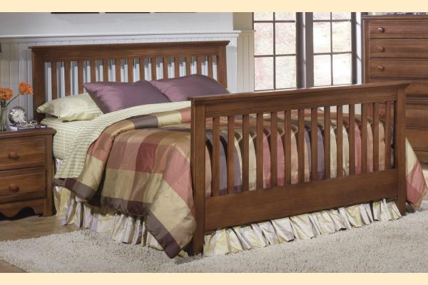 Carolina Furniture Crossroads Full Slat Bed