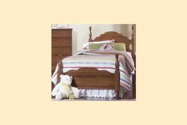 Carolina Furniture Crossroads Twin Panel Bed