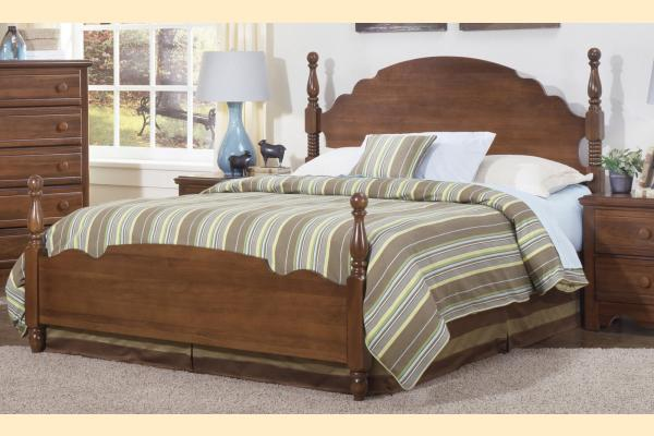 Carolina Furniture Crossroads Full Panel Bed