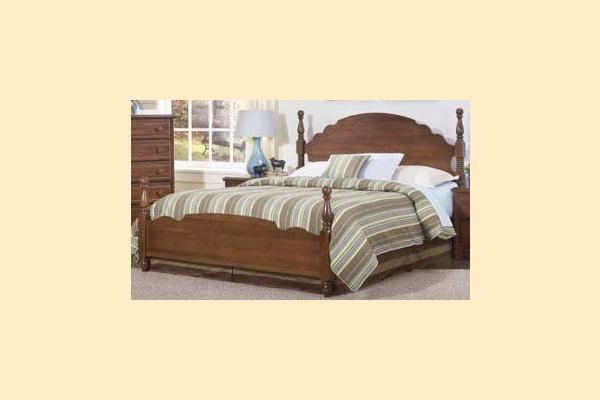 Carolina Furniture Crossroads Queen Panel Bed