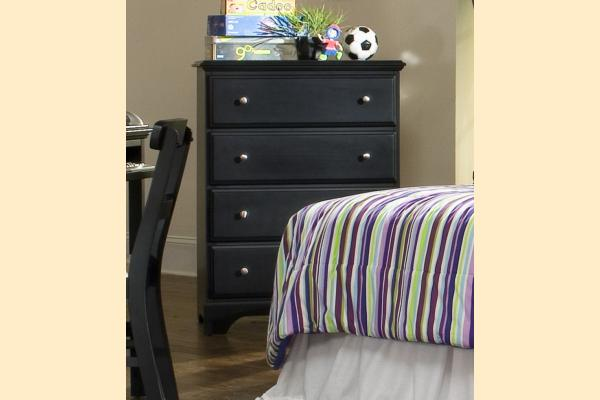 Carolina Furniture Midnight Four Drawer Chest