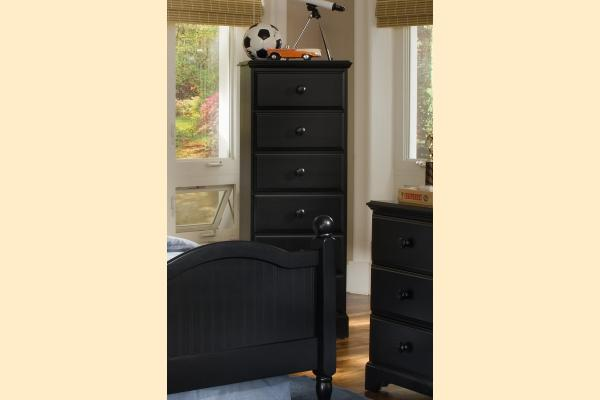Carolina Furniture Midnight Six Drawer Lingerie Chest