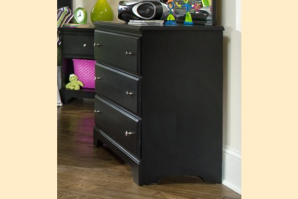 Carolina Furniture Midnight Single Dresser