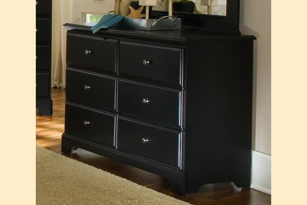 Carolina Furniture Midnight Double Dresser