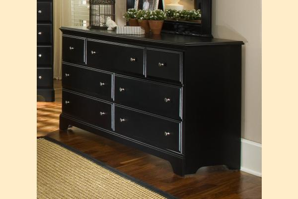 Carolina Furniture Midnight Triple Dresser