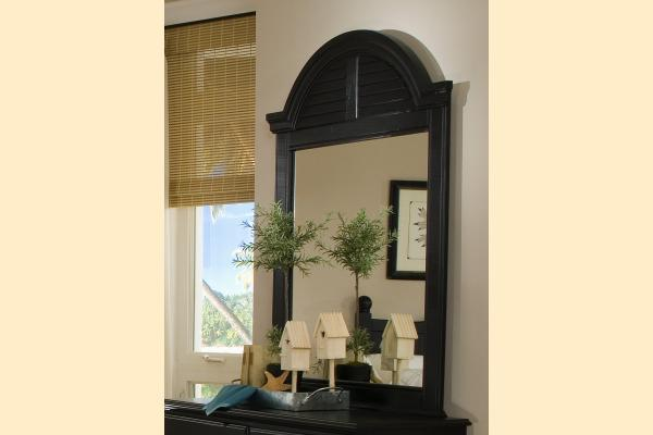 Carolina Furniture Midnight Cottage Vertical Mirror