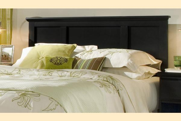 Carolina Furniture Midnight Full/Queen Panel Headboard and Frame