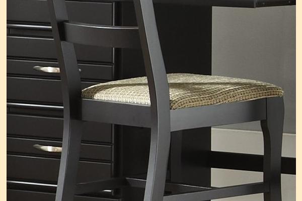 Carolina Furniture Platinum Series-Black Chair
