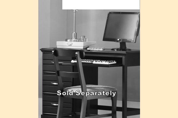 Carolina Furniture Platinum Series-White Computer Desk