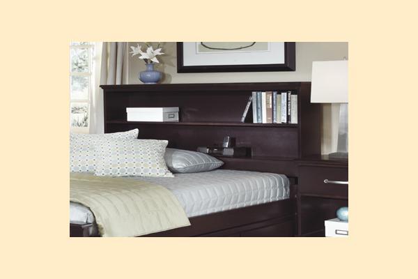 Carolina Furniture Signature Series Twin Bookcase Bed