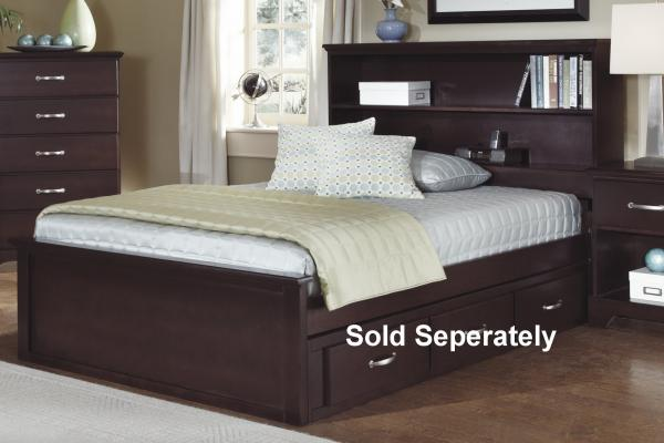 Carolina Furniture Signature Series Full Bookcase Bed