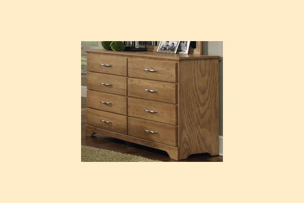 Carolina Furniture Sterling Tall Dresser 8 Drawers