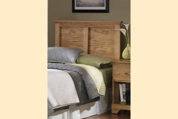 Carolina Furniture Sterling Twin Panel Headboard Only with Frame