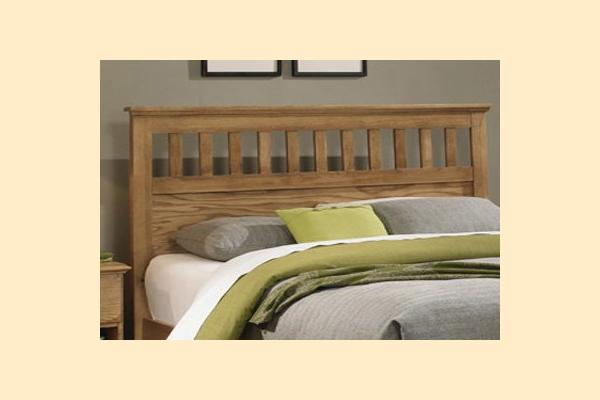 Carolina Furniture Sterling King Panel Headboard Only with Bed Frame