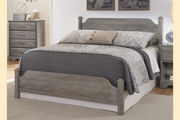 Carolina Furniture Vintage Series Twin Poster Bed
