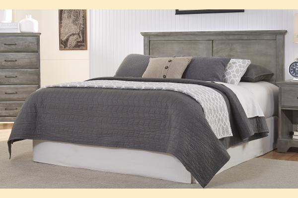 Carolina Furniture Vintage Series Twin Panel Headboard with Bed Frame