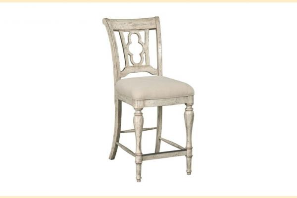 Kincaid Weatherford-Cornsilk Kendal Counter Height Side Chair
