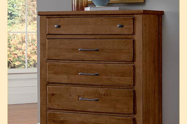 VB Artisan & Post  Cool Rustic-Amber Drawer Chest