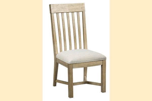 American Drew Litchfield James Side Chair-Driftwood