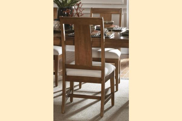 Kincaid Cherry Park Slat Wood Back Side Chair