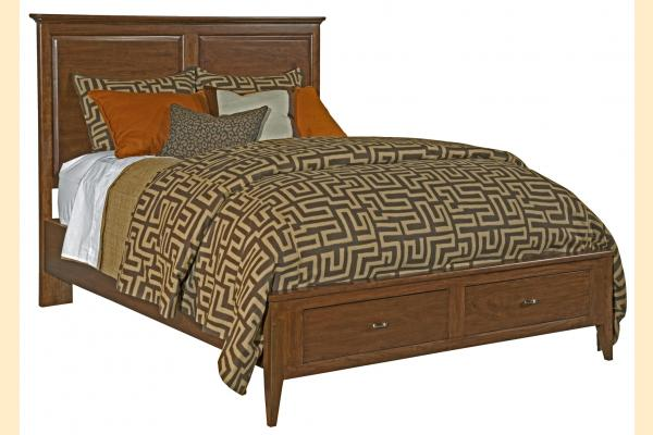 Kincaid Cherry Park Queen Panel Storage Bed