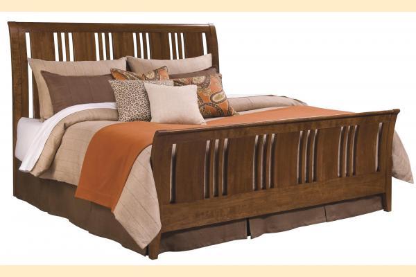 Kincaid Cherry Park King Sleigh Bed