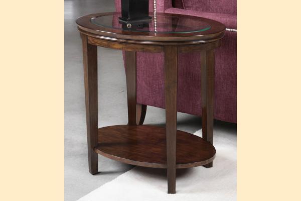 Kincaid Elise Oval End Table