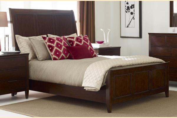 Kincaid Elise Queen Caris Sleigh Bed