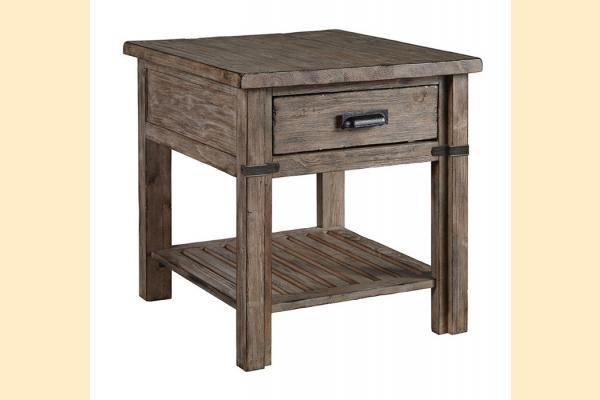 Kincaid Foundry Drawer End Table