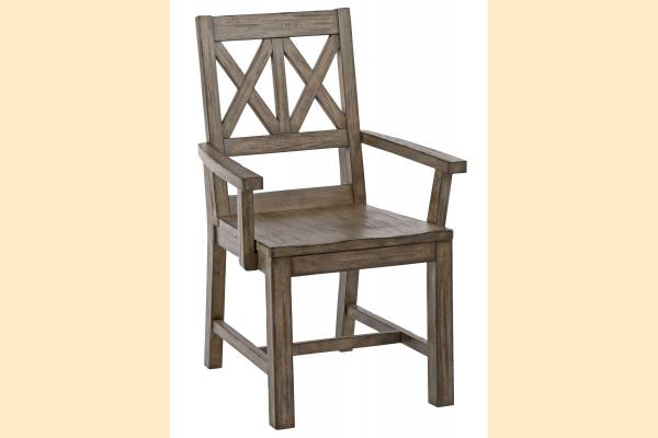Kincaid Foundry Wood Arm Chair