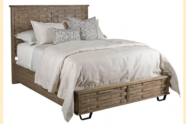Kincaid Foundry Queen Panel Bed