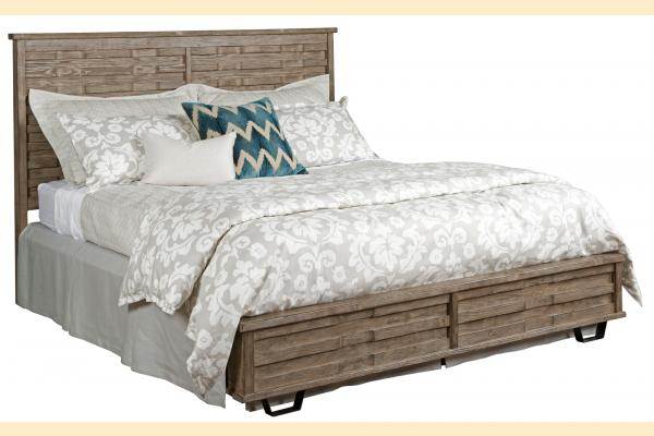 Kincaid Foundry King Panel Bed
