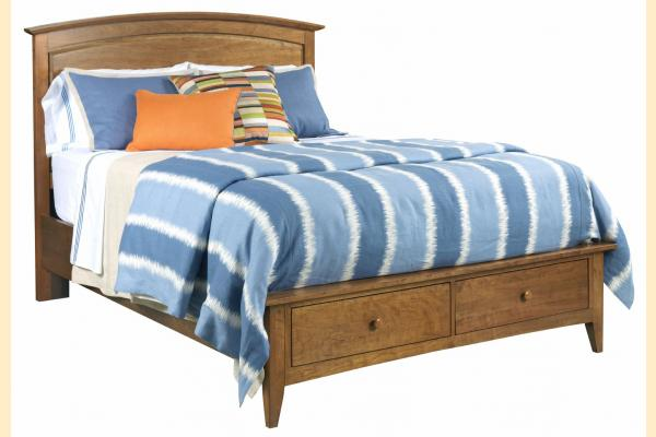 Kincaid Gatherings-Honey King Arch Storage Bed