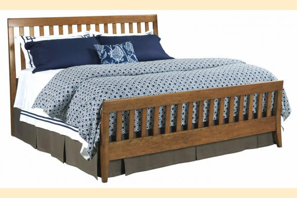 Kincaid Gatherings-Honey King Slat Bed