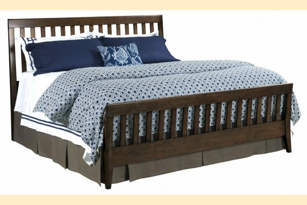 Kincaid Gatherings-Molasses King Slat Bed