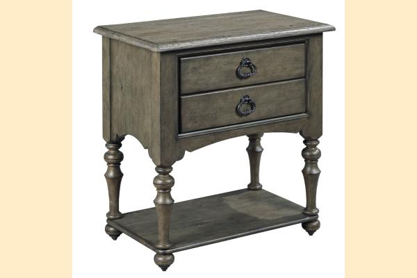 Kincaid Greyson Tyler Two Drawer Open Nightstand