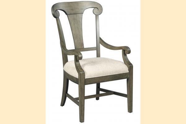 Kincaid Greyson Fulton Splat Back Arm Chair