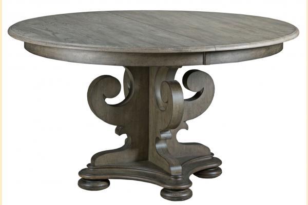 Kincaid Greyson Grant Round Pedestal Table w/ leaf