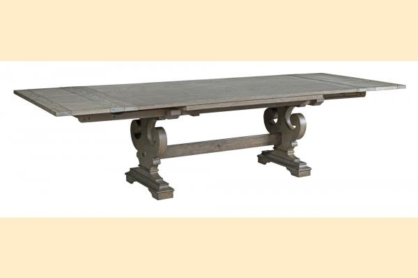Kincaid Greyson Crawford Refractory Dining Table w/ 2 Self Storing Leaves