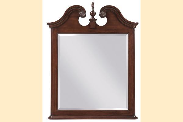 Kincaid Hadleigh Vertical Pediment Mirror