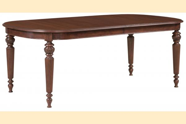 Kincaid Hadleigh Oval Dining Table w/ 2 20 Inch Leaves