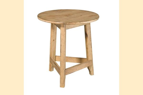 Kincaid Homecoming-Vintage Pine Round Accent Table