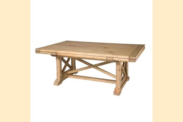 Kincaid Homecoming-Vintage Pine Refractory Trestle Table