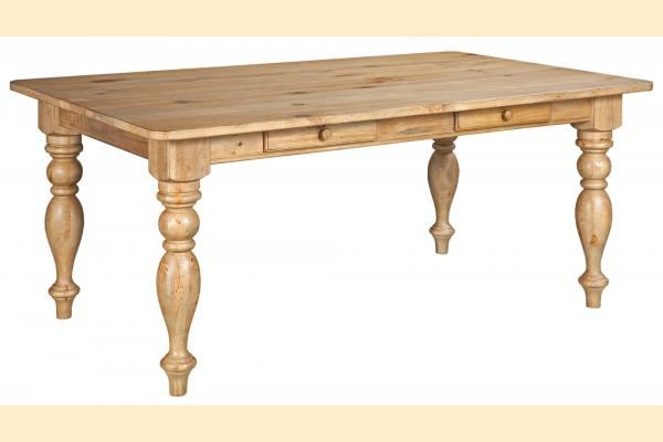 Kincaid Homecoming-Vintage Pine Farmhouse Leg Table