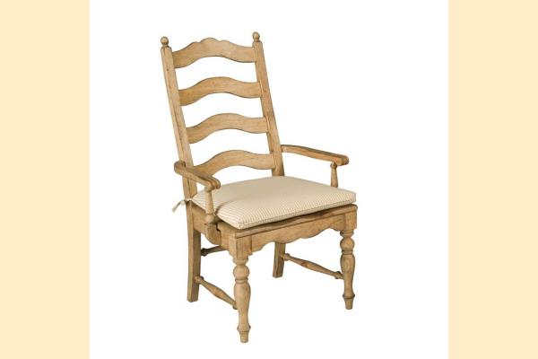Kincaid Homecoming-Vintage Pine Ladderback Arm Chair