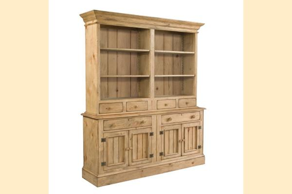 Kincaid Homecoming-Vintage Pine Open Hutch w/Buffet