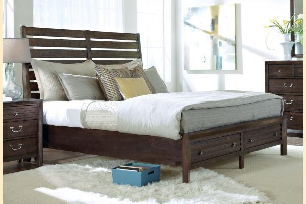 Kincaid Montreat Queen Sleigh Storage Bed