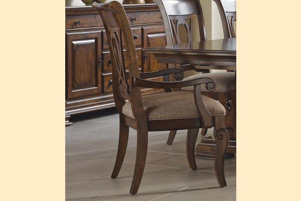 Kincaid Portolone Harp Back Arm Chair